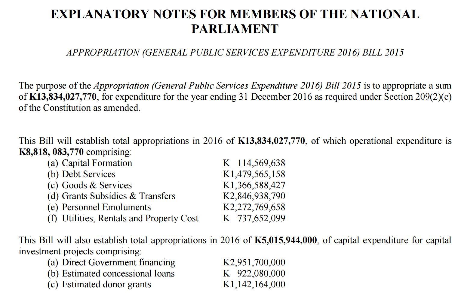 2016-budget-bill-explanatory-notes