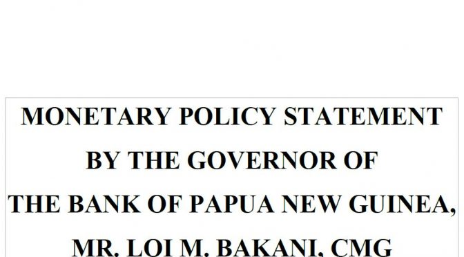 PNG's Sept 17 Monetary Policy Statement (1) – Deceptively denying foreign exchange shortages