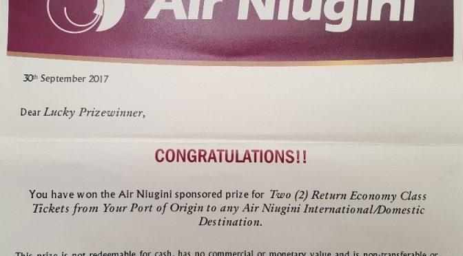 Air Nuigini and Albert Schram